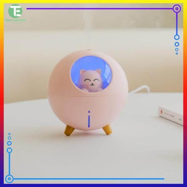 USB Air Humidifier Home Car Mist Maker Cat Night Lamp Home Room Office Air Purifier Decor Singapore