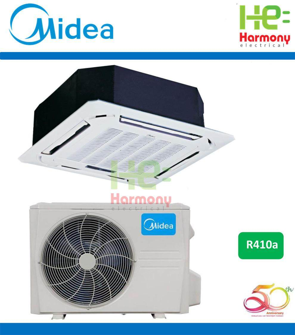 New: Midea 1.5hp Ceiling Cassette Air Conditioner R410a MCA3-12CRN1