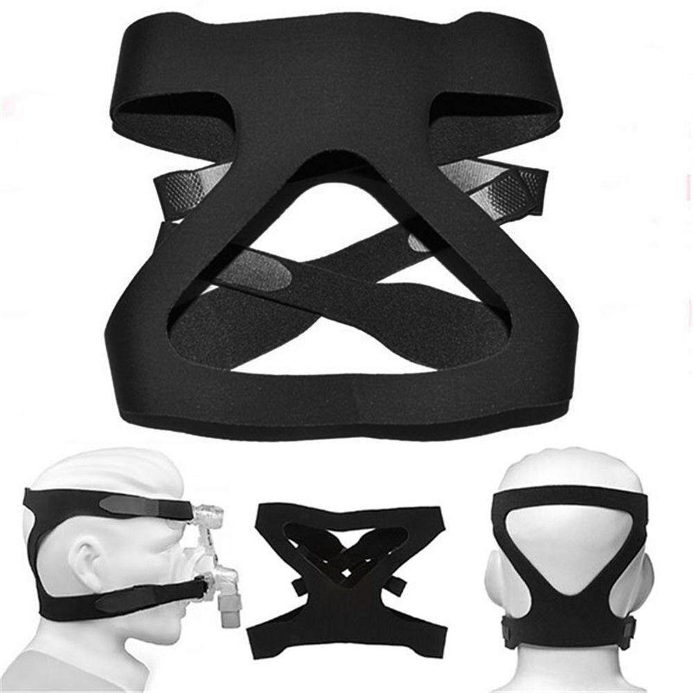 LUUGS - ยืดหยุ่นหมวกหน้ากากเต็มรูปแบบเปลี่ยน CPAP สายรัดศรีษะ Ventilator Headband