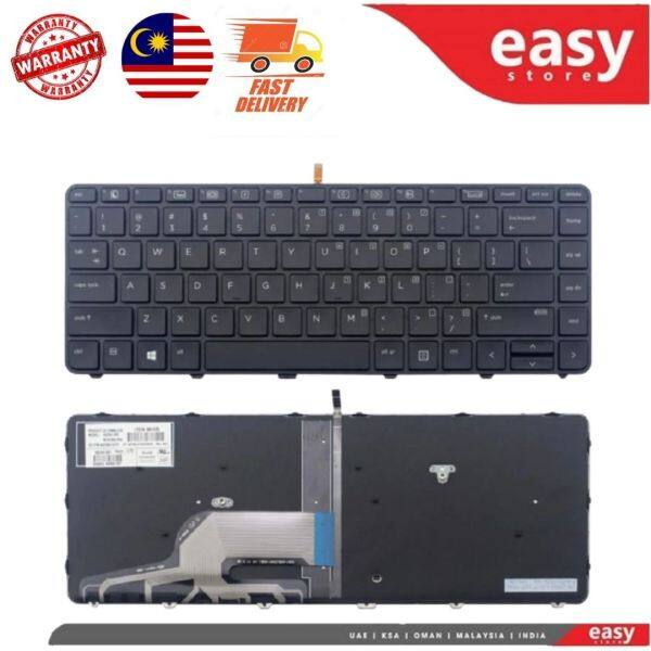 HP Probook 430 G3 440 G3 445 G3 440 G4 430 G4 with backlight Laptop Keyboard Malaysia