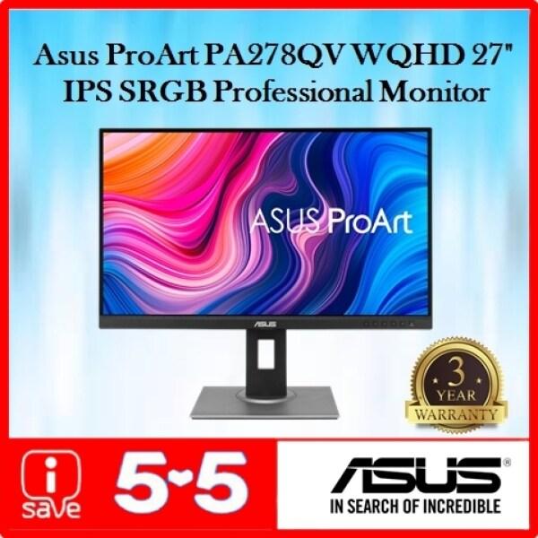 Asus ProArt Display 27 PA278QV WQHD IPS 75Hz Adaptive Sync 100% SRGB Calman Verified Professional Monitor Malaysia