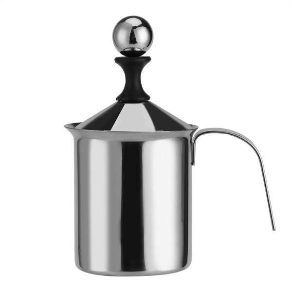 YiiToo 400 ML/800 ML Inox Bằng Tay Bọt Sữa Lưới Kép Cà Phê Cappuccino Sữa Rửa Mặt Foamer Kem