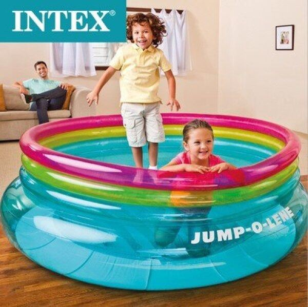 Swimming pool children toy inflatable castle inflatable Jump indoor trampoline round