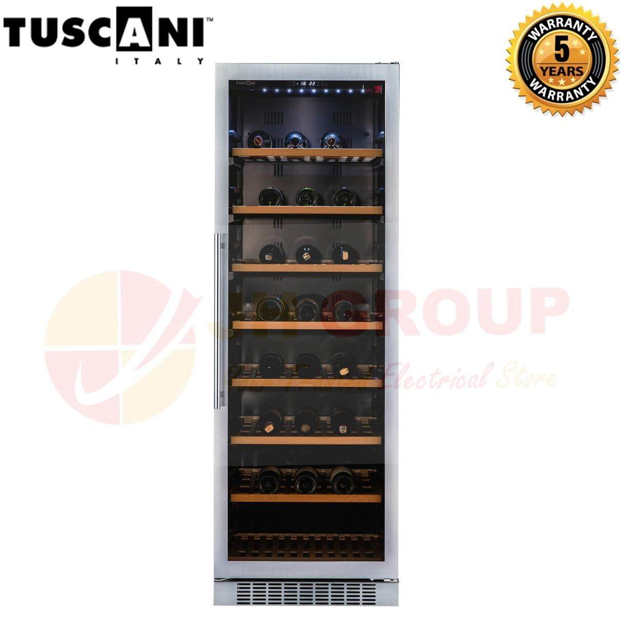 Tuscani Italy Tsc Bellona 166 (ss) 424l Seamless Stainless Steel Door Wine Cellar ( 151 Bottles ) Wine Chiller Wine Cooler Wine Cabinet Wine Fridge By Jh Ecommerce.