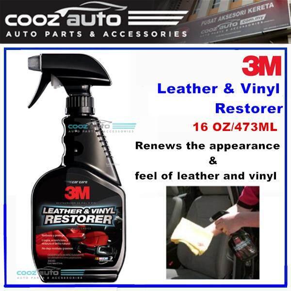 3M Interior Leather and Vinyl Seat Dashboard Steering Restorer 473ML (1  Bottle)