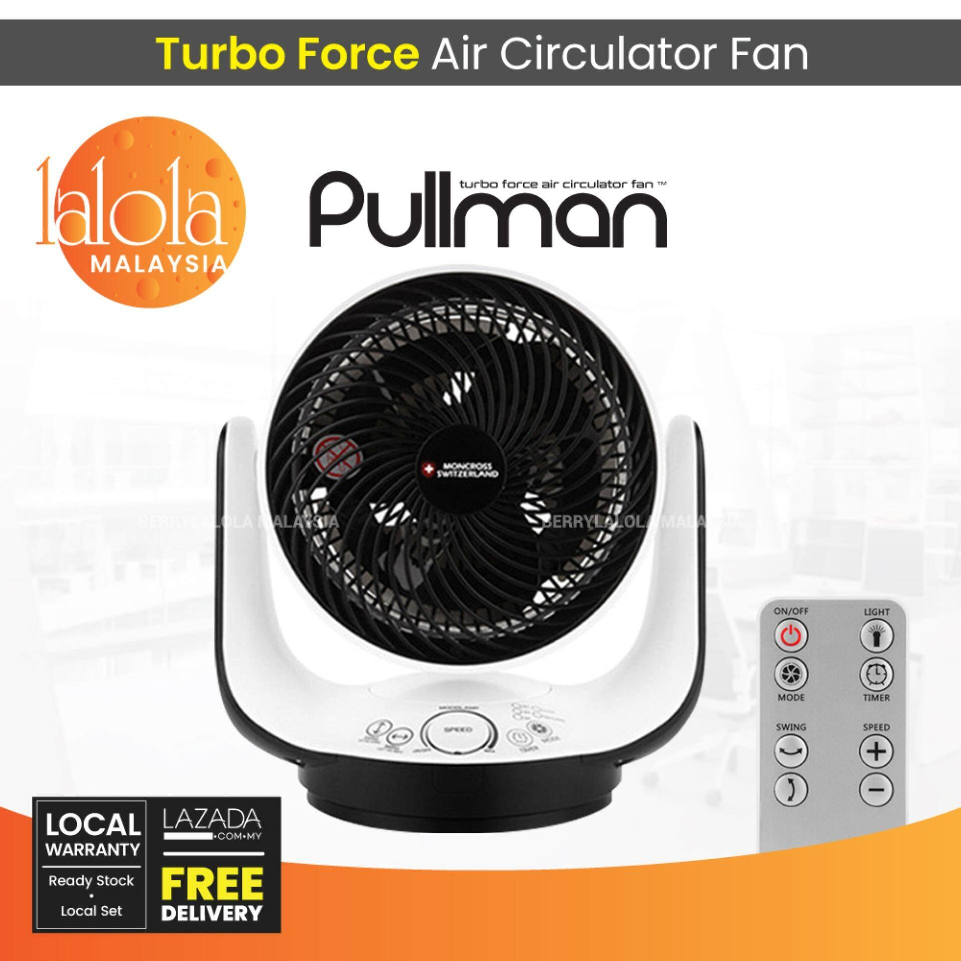 [local Seller] Pullman Turbo Force Air Circulator With 7 Led By Berrylalola Malaysia.