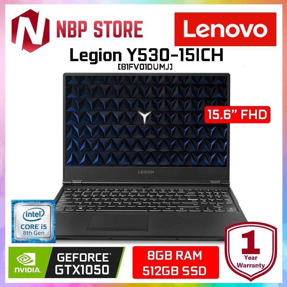 Lenovo Legion Y530-15ICH 81FV01DUMJ 15.6  FHD Gaming Laptop ( i5-8300H, 8GB, 512GB SSD, GTX1050 4GB, W10 ) Malaysia