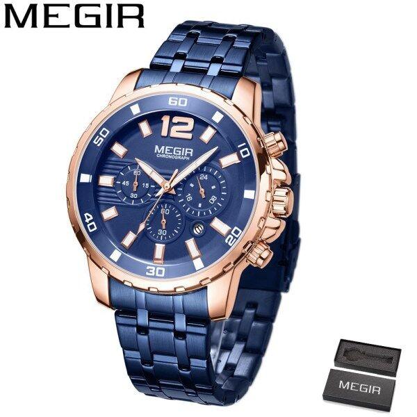 MEGIR MGE2068G Top Luxury Brand Watch For Man Fashion Sports Men Quartz Watches Trend Wristwatch Gift For Male jam tangan lelaki Malaysia