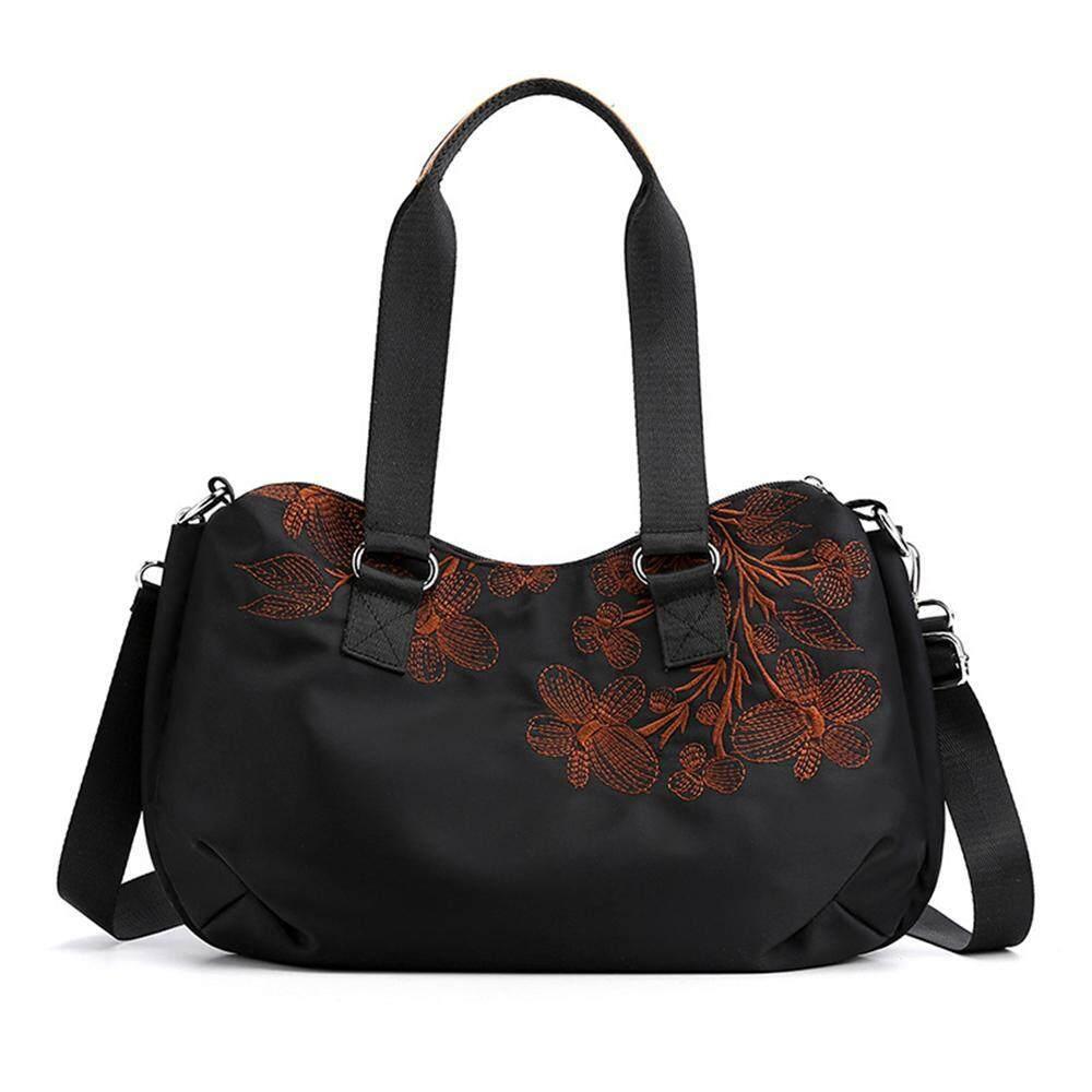 LayOPO Fashion Embroidered Ladies Handbag,Women Bags Sling Bags Ladies Big Handbags Casual Shoulder Bags Lady Bag