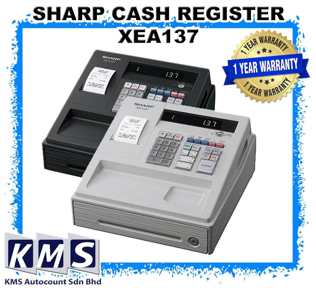 Cash Register Machine (Sharp) XEA137 XE-A137 XEA-137 READY STOCK !