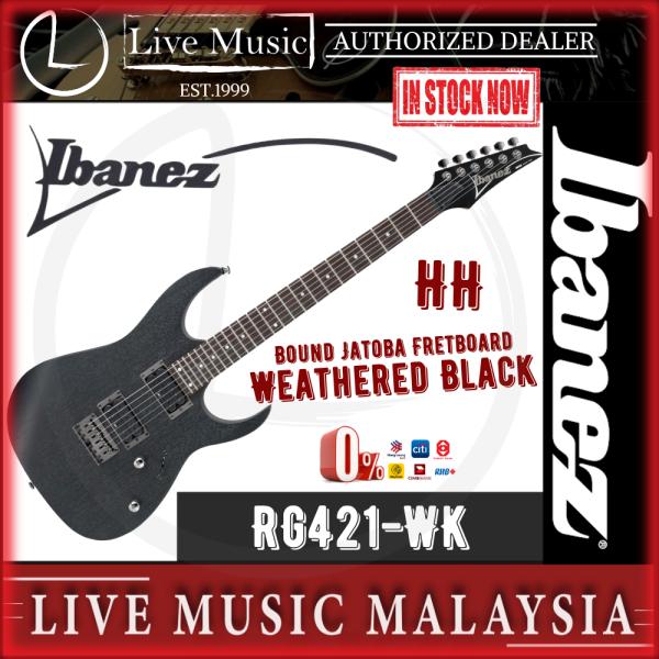 Ibanez RG421 RG Series Electric Guitar - Weathered Black (RG421-WK) Malaysia