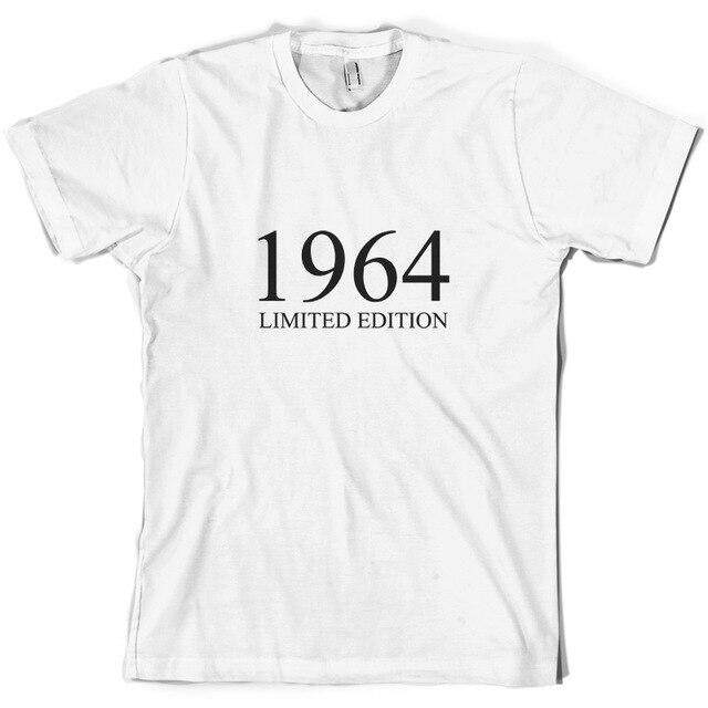 3b436099 1964 Limited Edition - Mens 50th Birthday Present / Gift T-Shirt - 10  ColoursNew T Shirts Funny Tops Tee New Unisex Funny Tops | Lazada