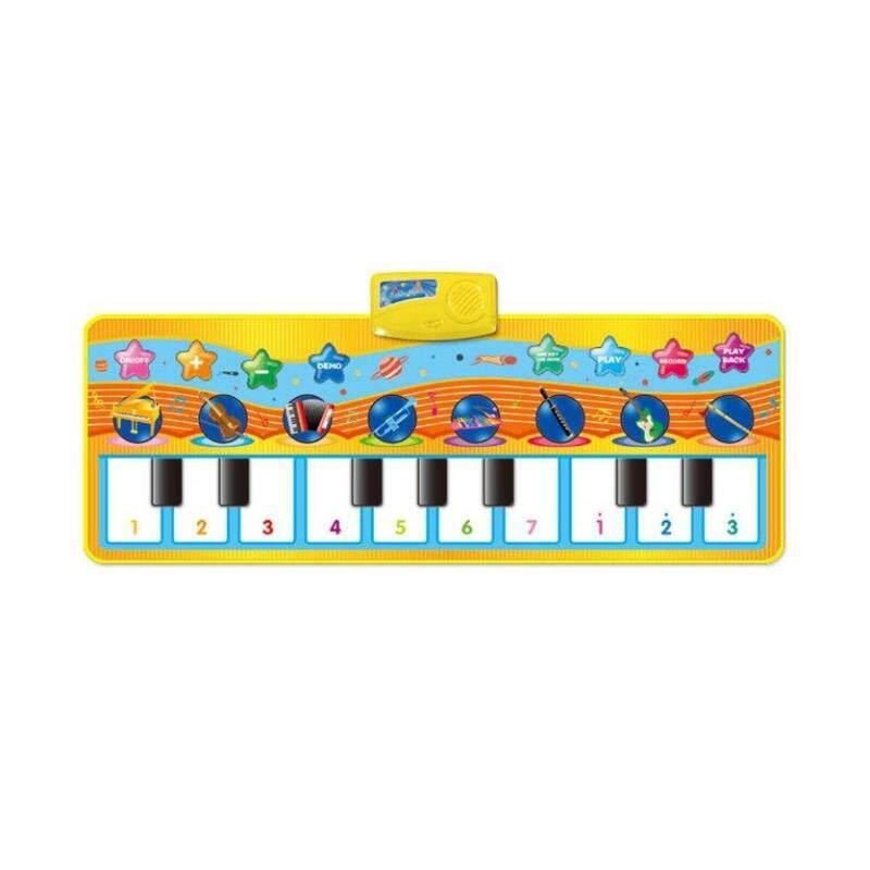 ĐẦU Âm Nhạc Kid Đàn Piano Chơi Động Vật Hoa Văn Giáo Dục Mềm Đá Đồ Chơi CP2303