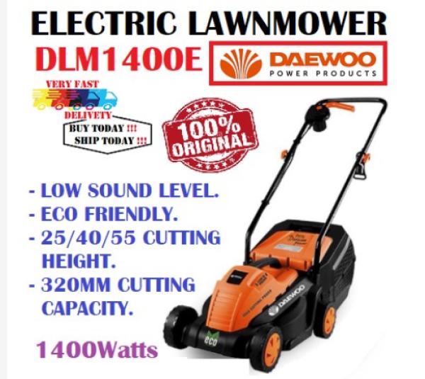 Daewoo DLM1400E Electric Lawn Mower - 1400W