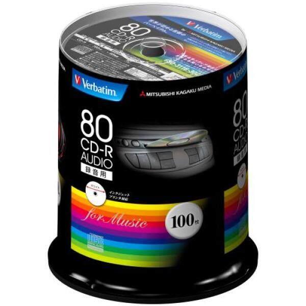 Verbatim music for the CD-R 80 100 sheets minute white printable 48x MUR80FP100SV1