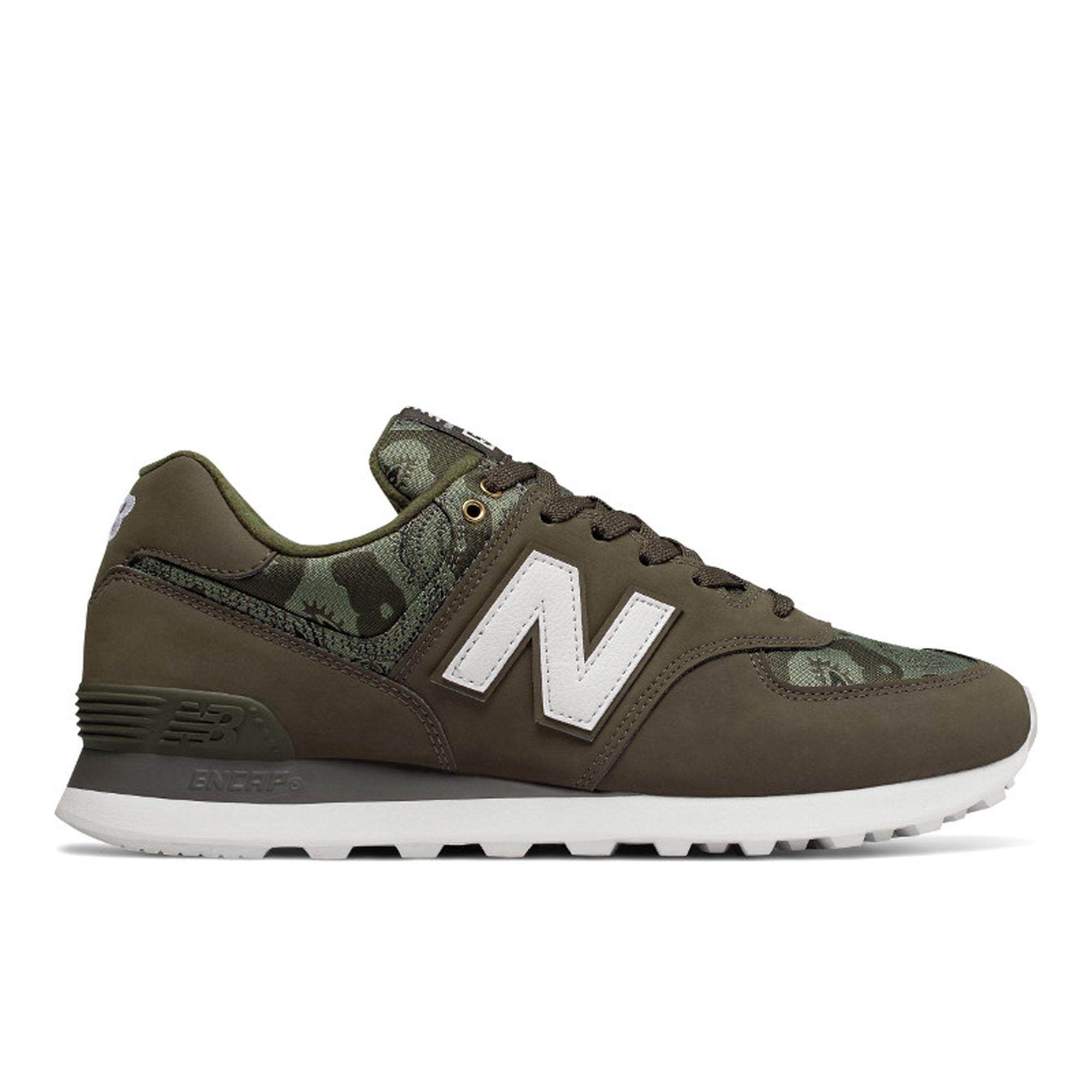 a2eedb78d1f80 New Balance Men's Lifestyle Shoes - 574 (Camouflage)