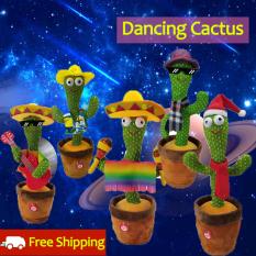 【Hot Deal】Dancing Smiley Đồ Chơi, Xương Rồng Xương Rồng Nhảy Múa 120 Bài Hát Đùa Búp Bê 28 Cm Quà Tặng Trang Trí Lắc Lư Dành Cho Trẻ Em, Hộp XƯƠNG RỒNG Nhảy Talkictusng