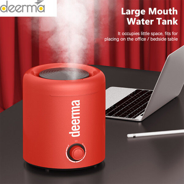 100% Original Deerma F300 2.5L Air Humidifier Household Ultrasonic Diffuser Humidifier Aromatherapy Humificador For Office Home Singapore
