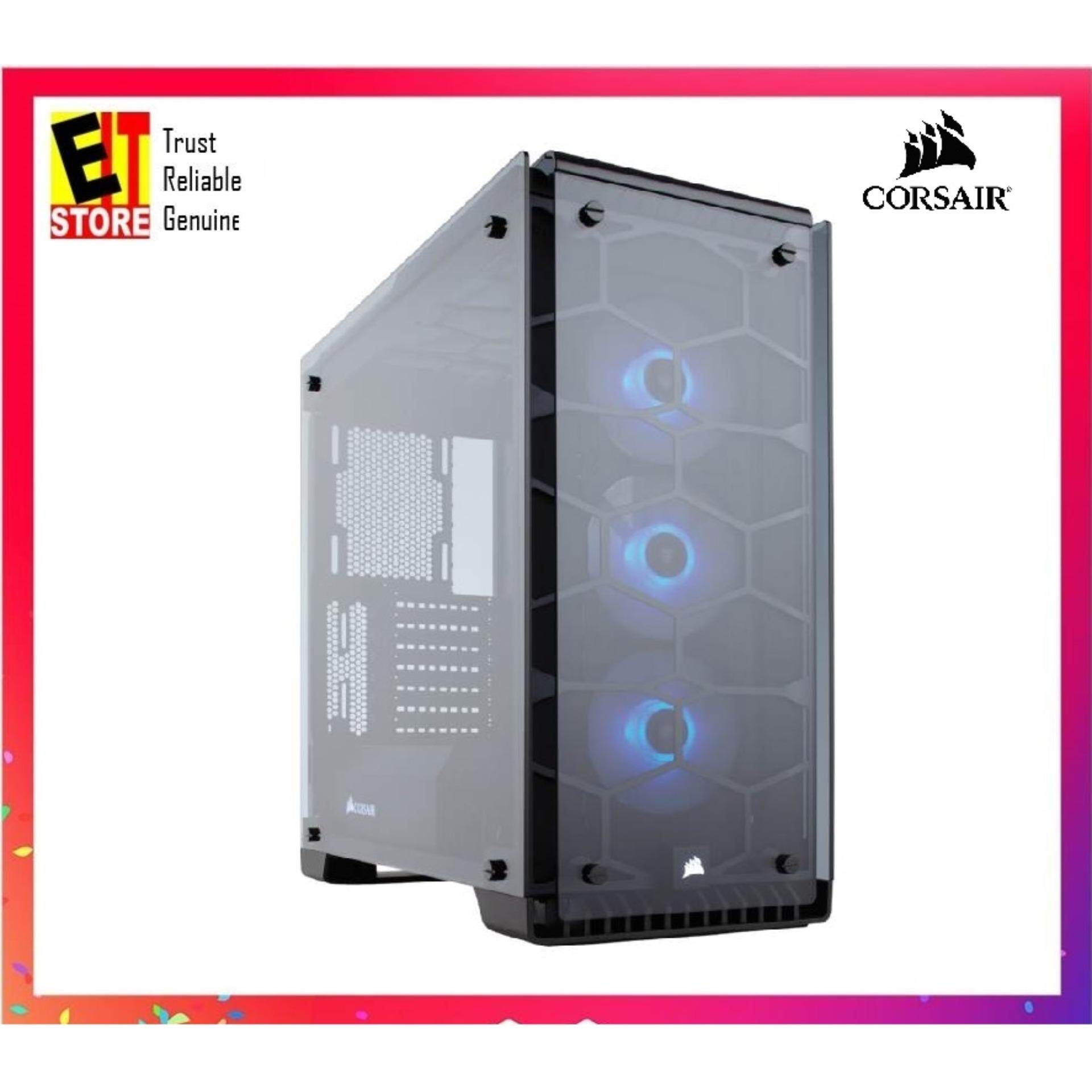 CORSAIR CRYSTAL 570X RGB MIRROR BLACK TEMPERED GLASS, PREMIUM ATX MID-TOWER CASE (CC-9011126-WW) Malaysia