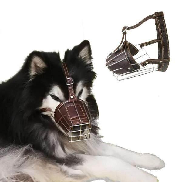 Mõm Chó Chó Bằng Thép Không Gỉ Mặt Nạ Có Thể Điều Chỉnh Mõm Chó Bìa Cho Chó Lớn Nhỡ Ngoài Trời Chống Cắn Hành Vi Đào Tạo Dừng Nhai Barking