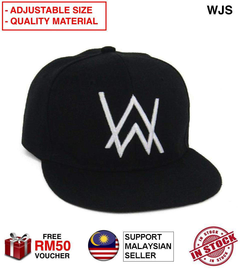 4e86e8ccf (QUALITY MATERIAL) WJS Premium Alan Walker Baseball Cap Cool Music DJ Alan  Walker Cap Breathable Adjustable Cap Unisex Hip Hop Bone Snapback Hat Fade  ...