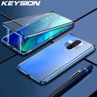 Ốp Từ Tính Hai Mặt KEYSION 360, Ốp Lưng Trong Suốt Bằng Kính Cường Lực Cho Redmi K30 K20 Pro Dành Cho Redmi Note 8 7 Pro thumbnail