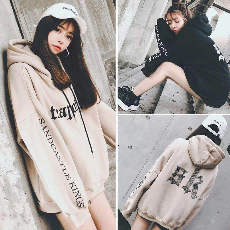 849a809b421  Lowest Price across Network Plus Size Korean Sweatshirt for Teenagers  Girls Women Long Sleeve