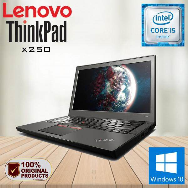 LENOVO THINKPAD X250 CORE I5  5TH GEN/ 4GB RAM / 500GB HDD / W10PRO [ 2 YEAR WARRANTY ] Malaysia