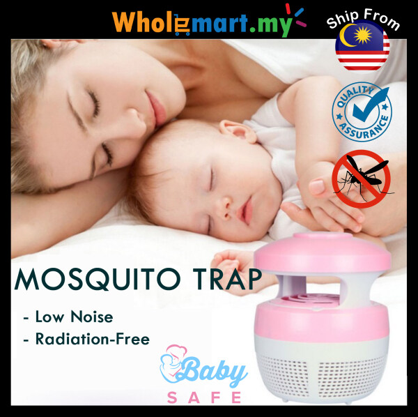 Portable Low Noise Mosquito Killer Lamp LED Mosquitoes Repellent Portable Insect Pest Bug Catcher Killer Mosquito Trap