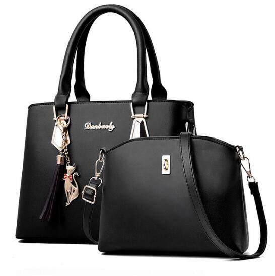 40f68efdb 3Pcs Tassel Shoulder Bag Crossbody Bag Shoulder Bag Women Handbag For Women  Girls Leather Shoulder Bags