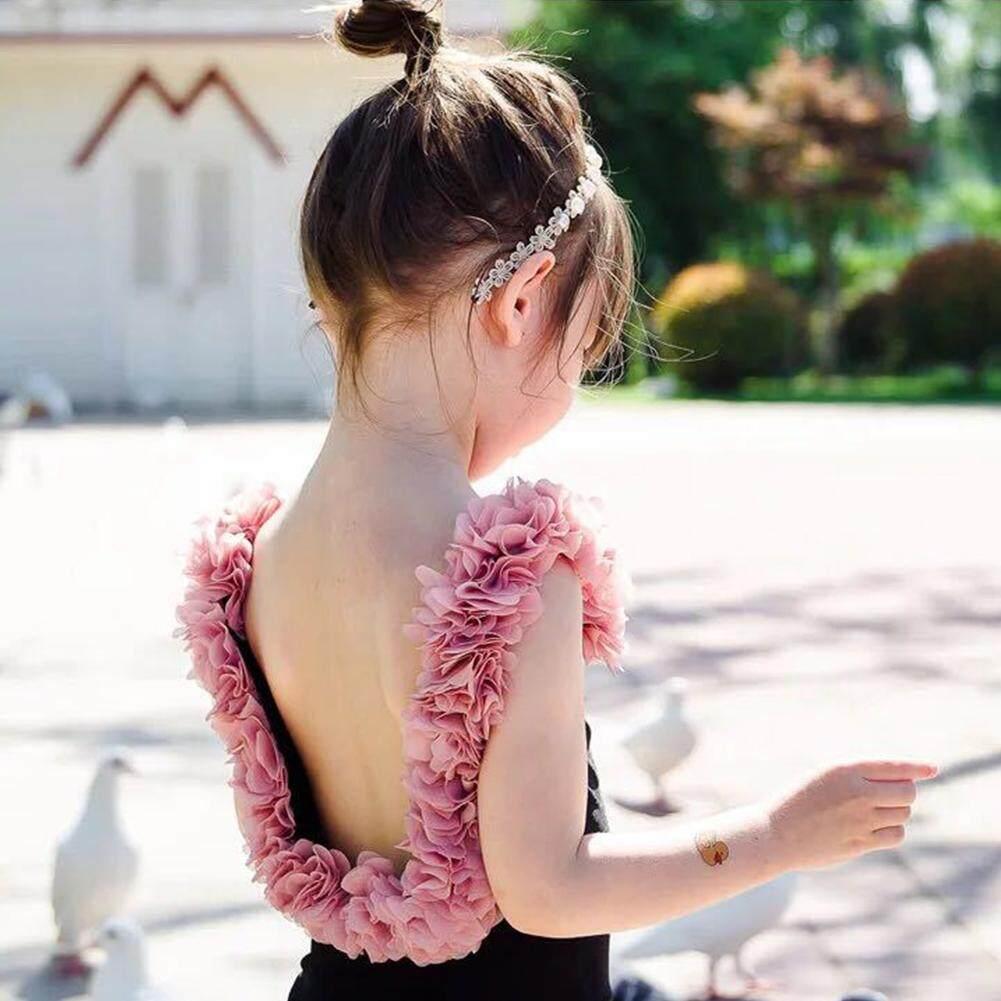 Giá bán 1 chiếc Cha Mẹ-Con 1 Monokini Bé Gái Hoa Áo Tắm Bikini