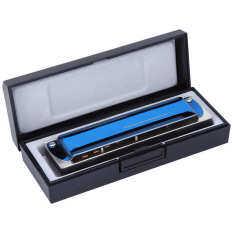Blues Harp Harmonica Ống Ngậm 10 Lỗ A/G/ # F/Bb/Db/Eb Bọc Chìa Khóa Bằng Thép Không Gỉ Kèn Harmonica Diatonic Không Thấm Nước