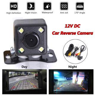 Camera Quan Sát Ban Đêm HD Rộng 170 Chống Nước 4 Đèn LED, Cảm Biến Đỗ Xe Quan Sát Phía Sau thumbnail