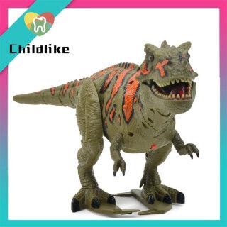 Khủng Long RUICHENG Tyrannosaurus Âm Thanh Dinobot Đồ Chơi Động Vật Đi Bộ Chạy Điện Đồ Chơi Phun Cho Bé Trai, Đồ Chơi Khủng Long Thế Giới Khủng Long Đồ Chơi Mô Hình Hành Động Nhẹ Và Âm Thanh Chạy Điện Cho Trẻ Em thumbnail