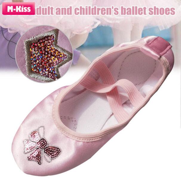 Giày Tập Yoga M-kiss Cho Trẻ Em Người Lớn, Múa Ba Lê Giày Giày Khiêu Vũ Đế Bằng Khử Mùi Không Thấm Nước giá rẻ