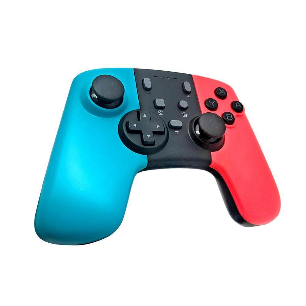 IOT Ikon untuk Switch Pro Controller Wireless Gamepad Bluetooth dengan Tombol Pemrograman + Kerang Warna-