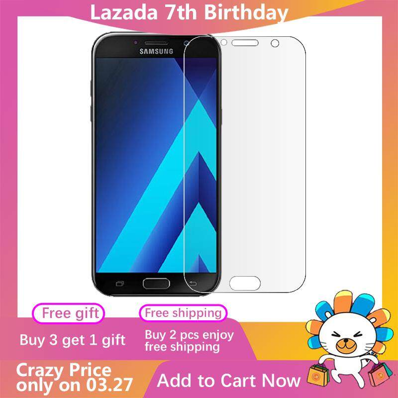 Moonmini for Nude Packing Samsung Galaxy A7 (2017) A720 Tempered Glass Screen Protector Film