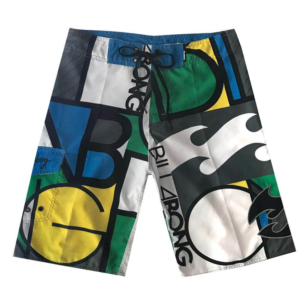 Mobilone Men Spring Summer Print Trunks Quick Dry Beach Surfing Running Short Pant By Mobilone.