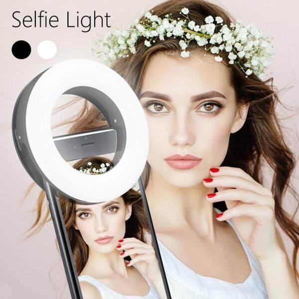 Clip cho iPhone 8 7 6 Plus phổ đèn chụp ảnh tự sướng Ống Kính Điện thoại di động Flash Ring 36 leds Vòng Sáng Samsung