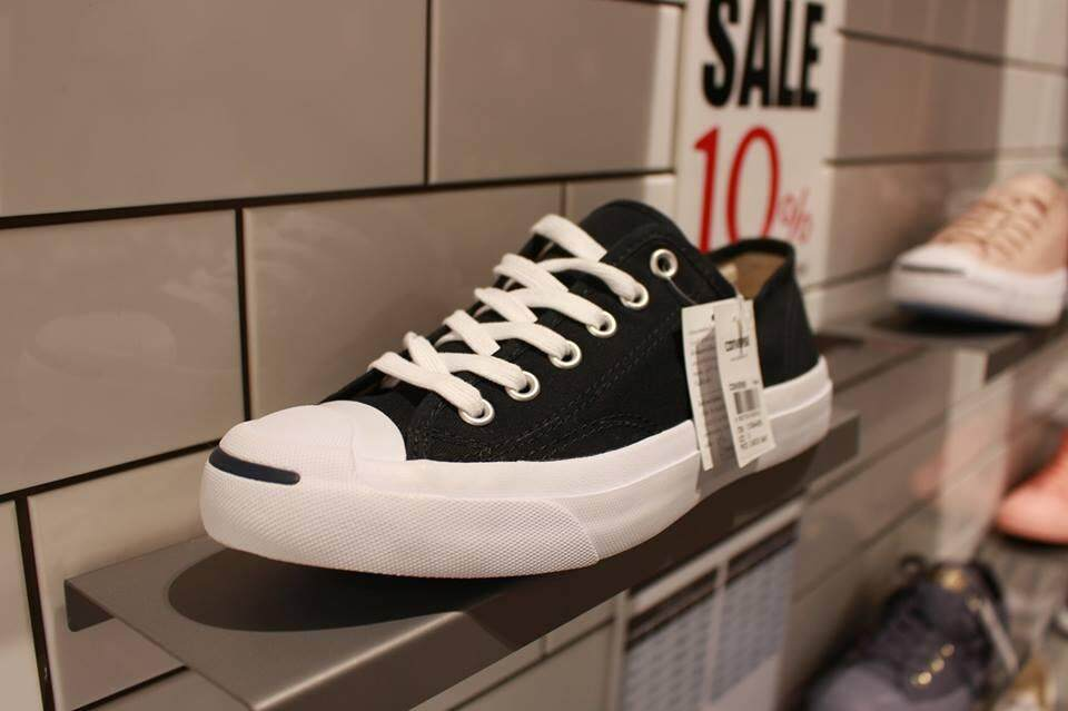 READY STOK- KASUT SHOES CONVERSE JACK PURCELL SNEAKERS LOW TOP -BLACK 76a00cf60
