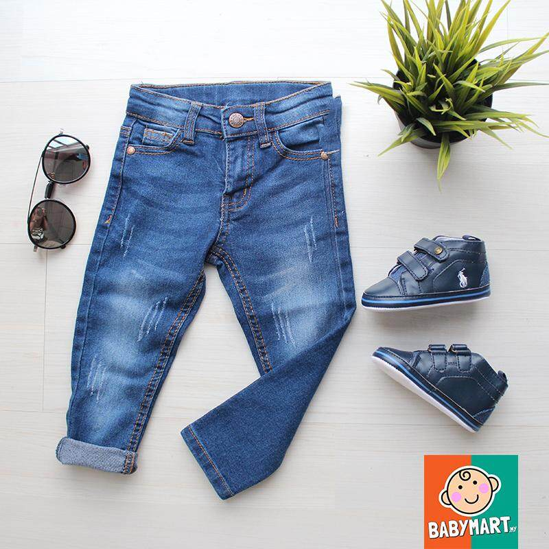 Young Boy Clothes Fashion Denim Clothing Long Pants Boys Slim Straight Jeans Casual Trousers Kids Baby Children Classic Bottoms : Mwing By Mwing Trading.
