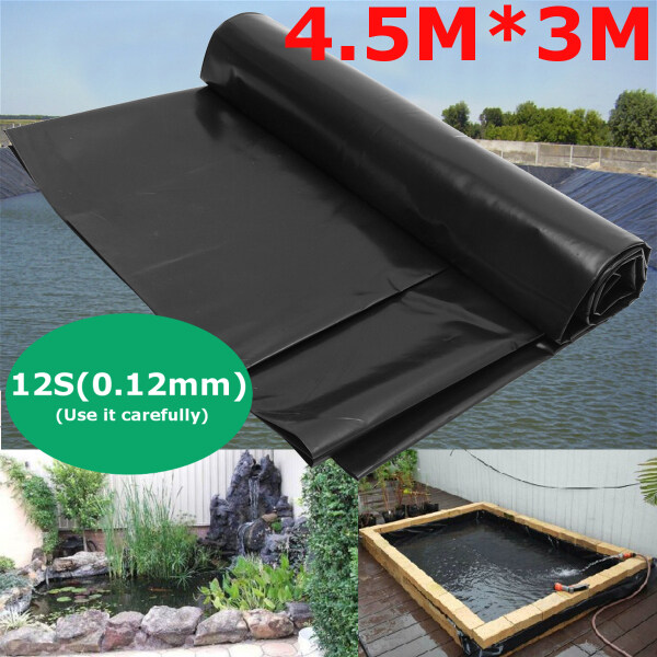 15x10  4.5x3m Fish Pond Liner Reinforced HDPE Heavy Duty Guaranty Landscaping