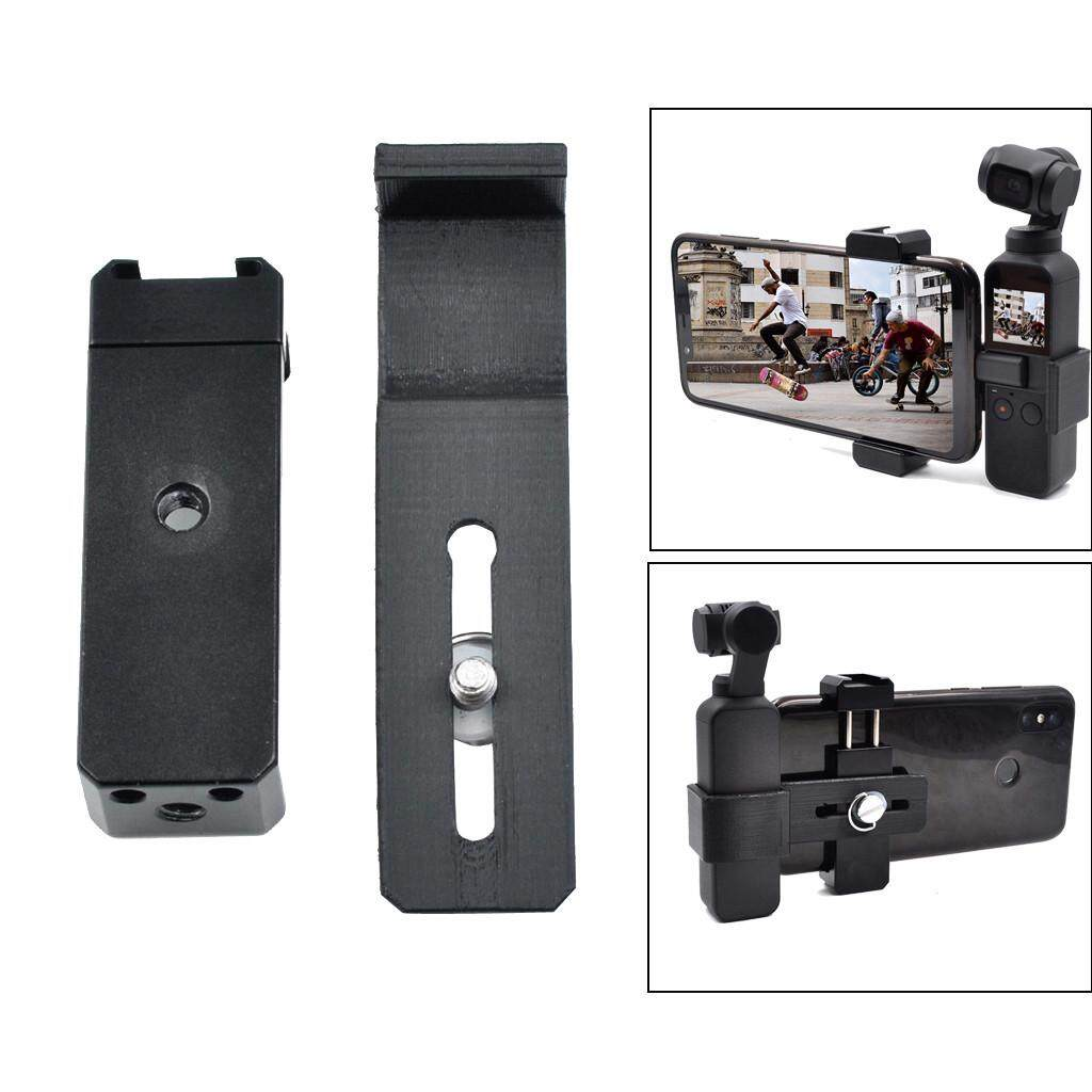 Docesty Osmo Accessories Smartphone Holder Mount Bracket For Dji Osmo Pocket Gimbal By Docesty.