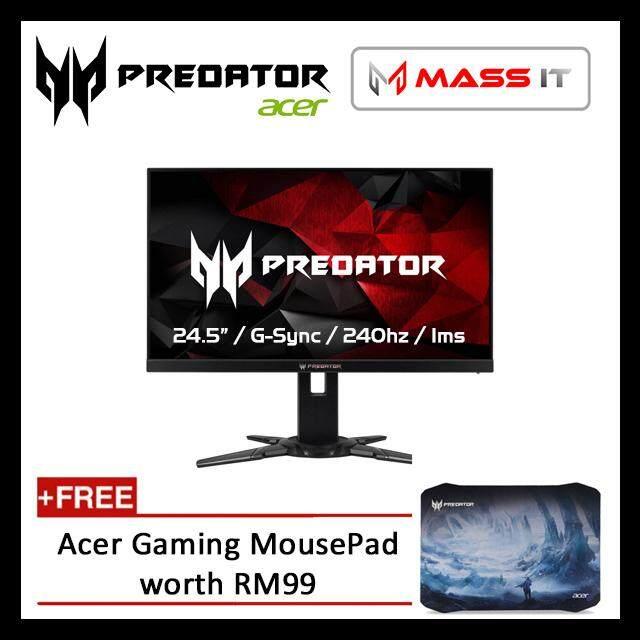 ACER Predator XB252Q 24.5 G-Sync 240hz 1ms FHD Gaming Monitor Malaysia