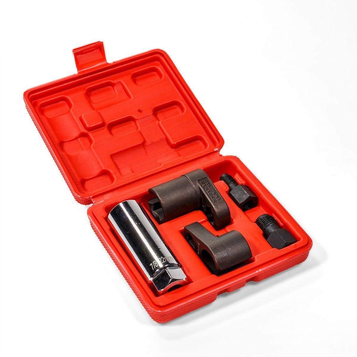 SK 5pcs/set O2 Oxygen Sensor Socket Thread Chaser Install Offset Wrench  Vacuum M12 M18 Models:5pcs/set