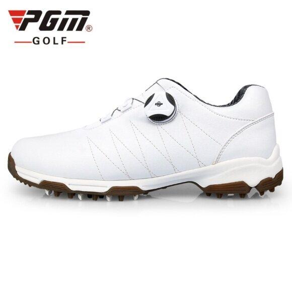 Giày Chơi Golf PGM Cho Nữ Và Nữ, Giày Sneaker Thể Thao Chơi Gôn, Giày Dây Giày Xoay Tự Động Chống Trượt, Chống Thấm Nước giá rẻ