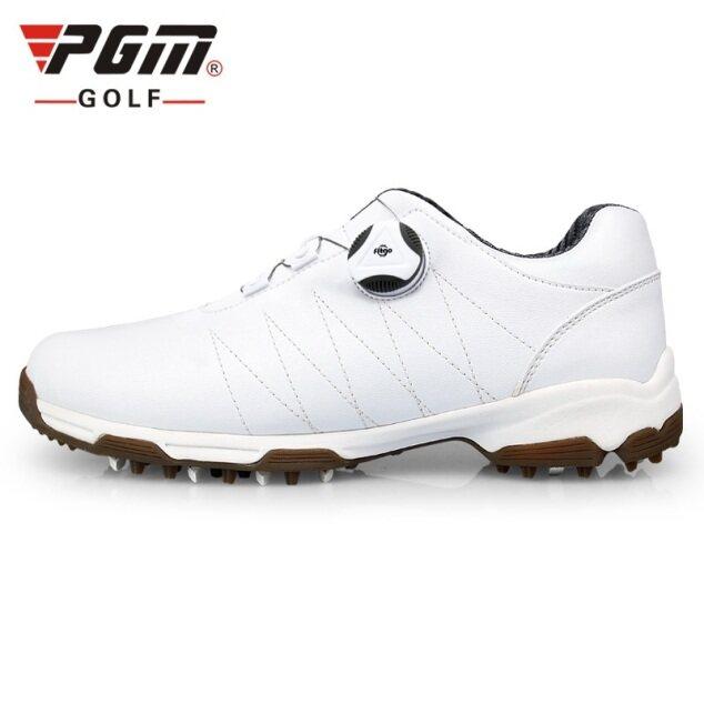 Giày Chơi Golf Nữ PGM Dành Cho Nữ Và Nữ Dành Cho Thể Thao Giày Thể Thao Cho Golf Thể Thao Chống Trượt Dây Giày Xoay Tự Động Không Thấm Nước giá rẻ