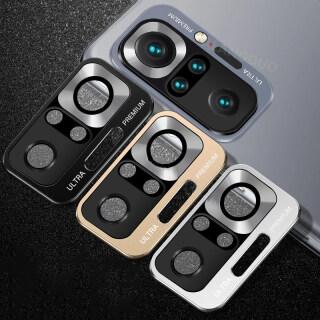 Ốp Lưng Điện Thoại Xiaomi Redmi Note 10 Pro, Ốp Bảo Vệ Màn Hình Kính Cường Lực Bằng Kim Loại Cho Xiaomi Redmi Note10 Pro 10 5G 9S 9 PRO MI 10T X3 M3 PRO X3 NFC-Intl thumbnail