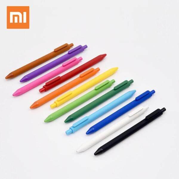 Mua Xiaomi Mi KACO Bộ bút bi 12 màu làm bằng nhựa ABS đầu ngòi 0.5mm có thể thay thế ống mực bên trong dụng cụ học tập văn phòng phẩm - INTL