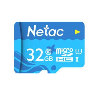 Netac Thẻ TF 32GB Thẻ Micro SD Dung Lượng Lớn UHS-1 Camera Thẻ Nhớ Tốc Độ Cao Class10 Camera Hành Trình Màn Hình Thẻ Micro SD thumbnail